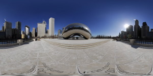 Cloud Gate  :: 360° Panorama