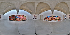David Lachapelle :: Auguries of Innocence :: Tony Shafrazi Gallery  :: 360° Panorama