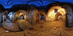 Muslim Quarter :: Jerusalem :: Old City  :: 360° Panorama