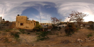 Old City Rooftops  :: 360° Panorama