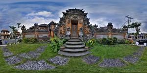 Ubud Palace :: Bali :: Indonesia  :: 360° Panorama